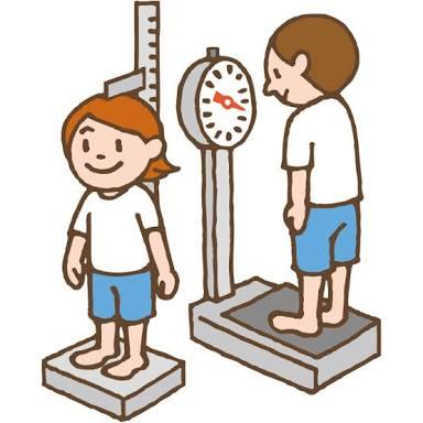 小学生の頃の発育測定