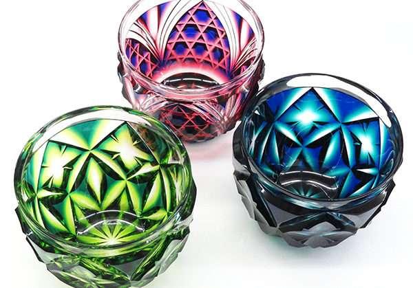 色んなガラス細工が見たい