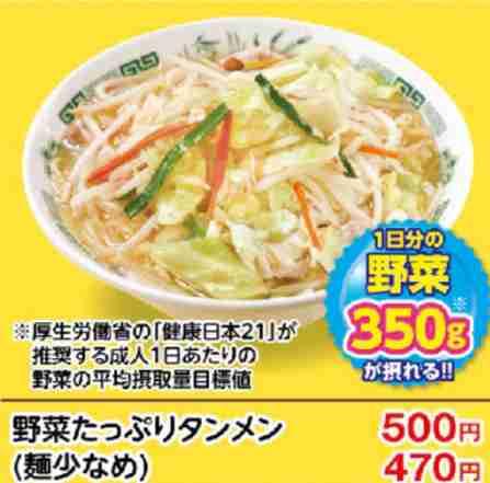 外食で野菜を食べるなら…どこの店?