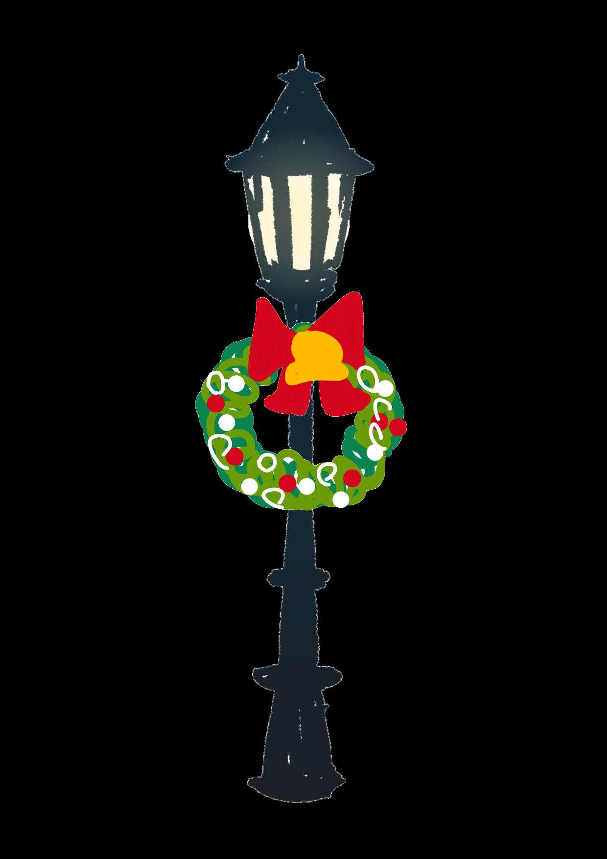 【お絵描き】クリスマスの街づくり【お絵かき】【イラスト】