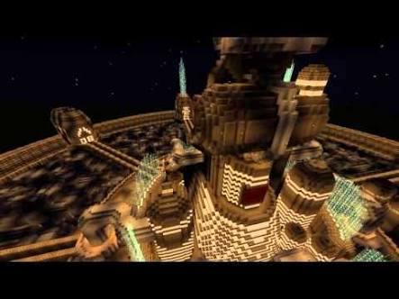 「マインクラフト」で「天空の城ラピュタ」を再現するプロジェクトが6年を費やしついに完結