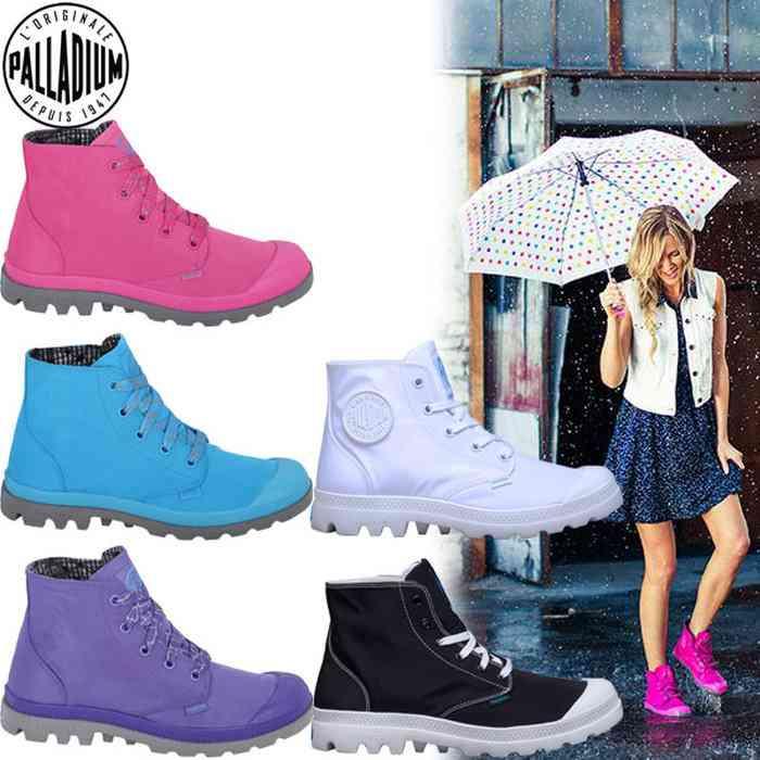 雨の日でも履けるスニーカー