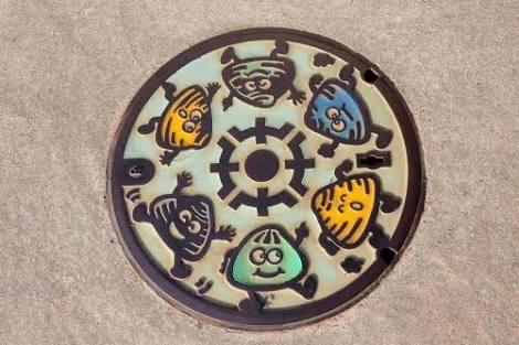 【日本全国】色々なマンホールの画像が見たい!