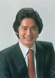 イケメン俳優の真正面写真