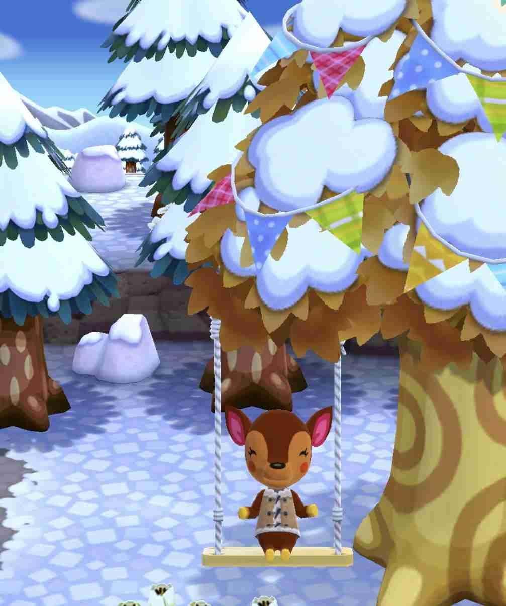「どうぶつの森 ポケットキャンプ」、新要素「ガーデン」「衣装クラフト」を発表 そしてこのシルエットは……?