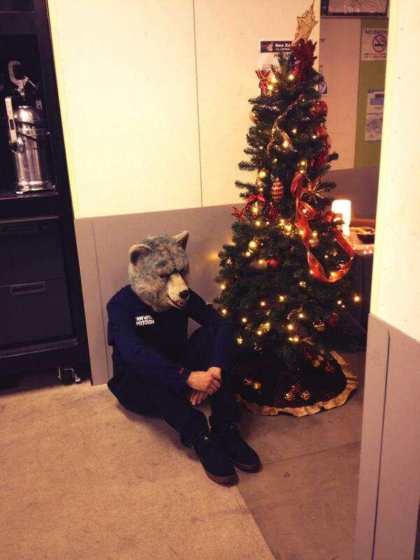 クリスマスに仕事の人!