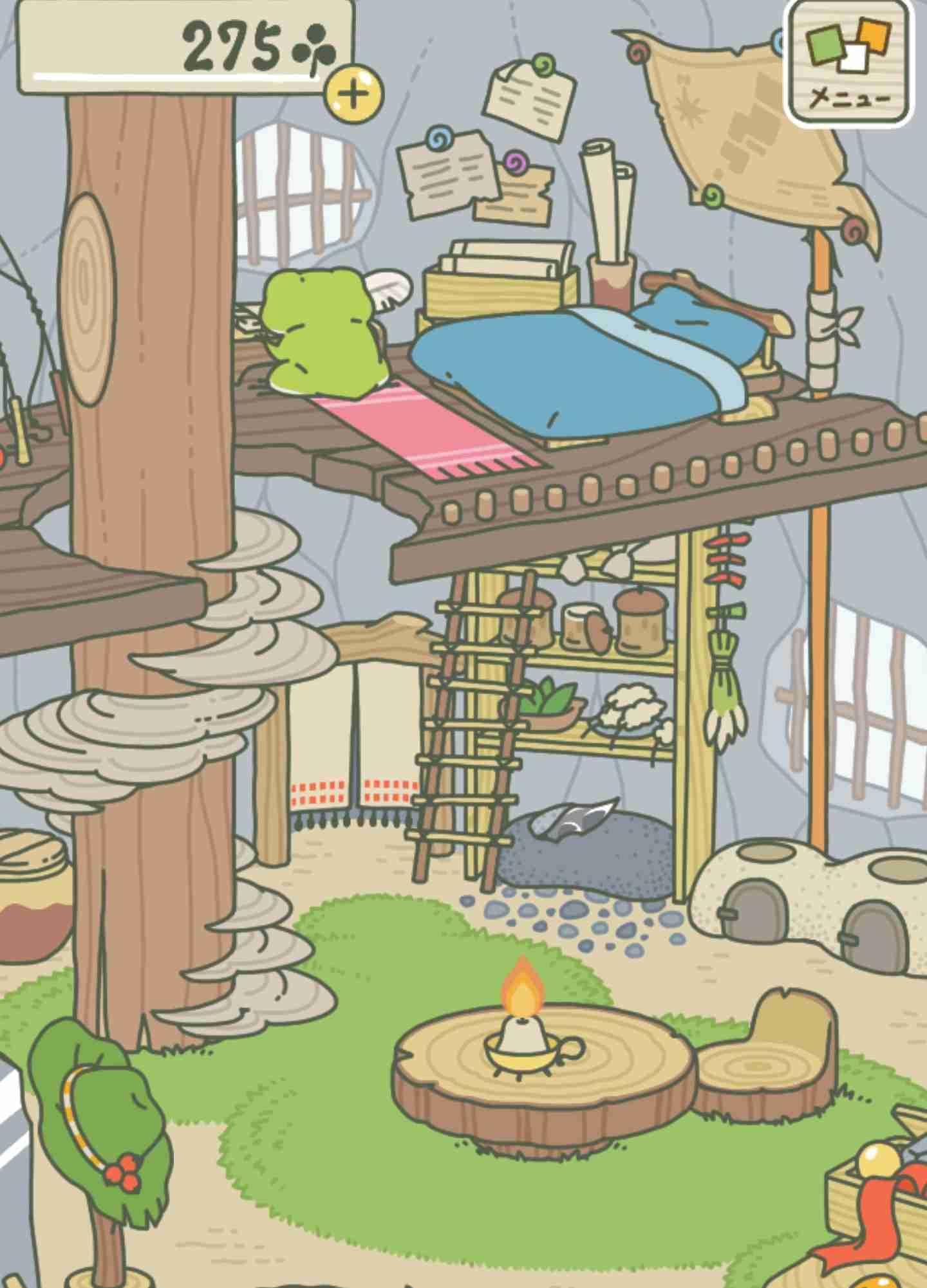 「ねこあつめ」スタッフによる新作「旅かえる」がかわいすぎると話題に お弁当を持たせて送り出すだけの究極の放置ゲーム