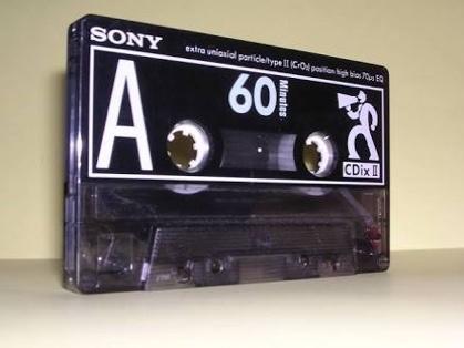 カセットテープの思い出