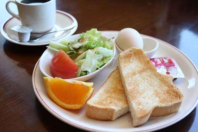 自分が食べたい朝食を貼るトピ