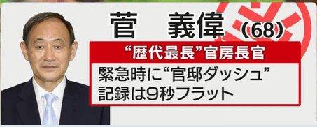対北朝鮮で追加措置、19団体を資産凍結対象に=菅官房長官