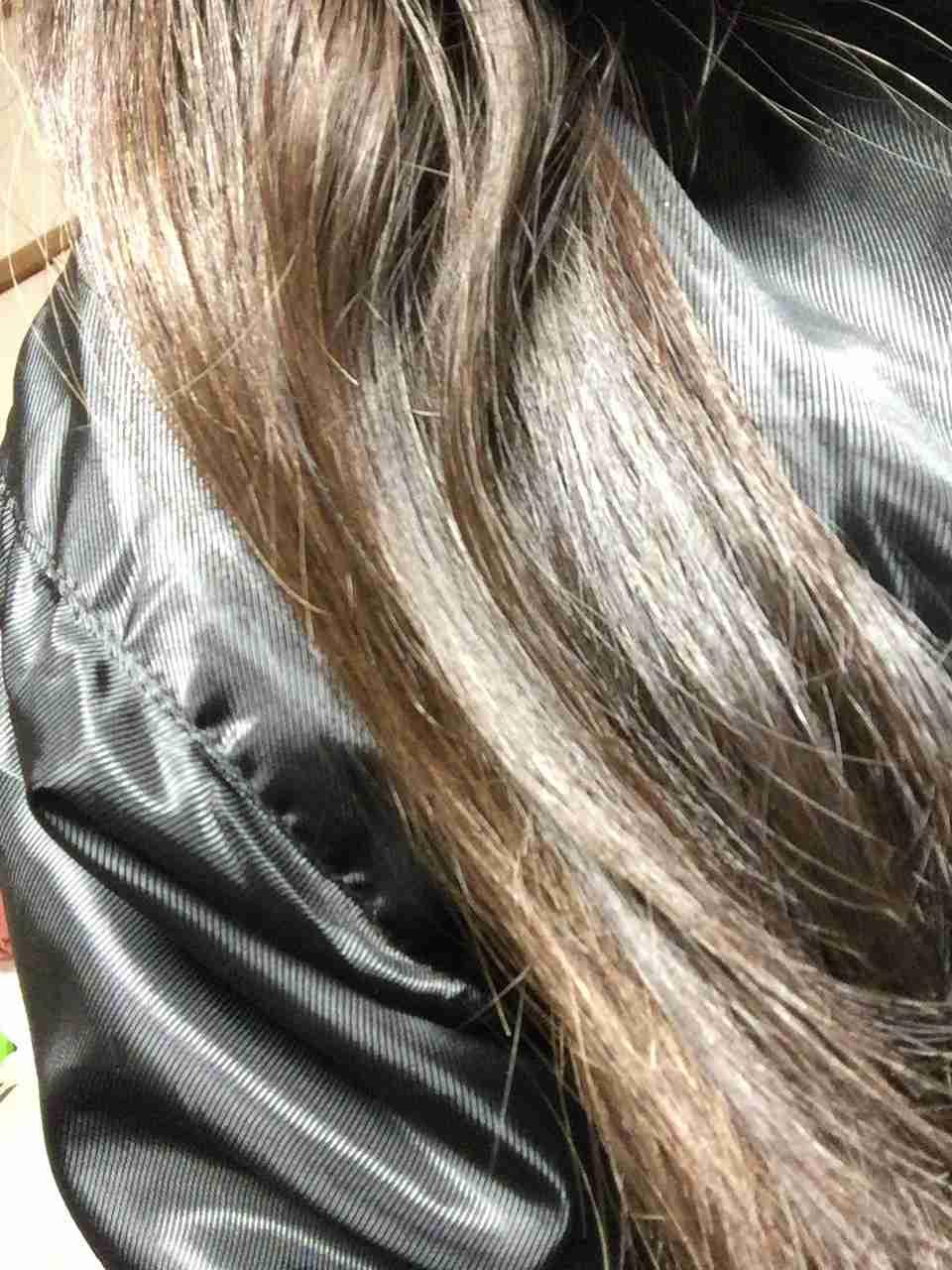 地毛の色がコンプレックス