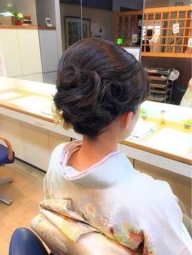 着物に似合う髪型