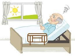 病院のベッドで年越し予定のみなさん、一緒に励まし合いましょう