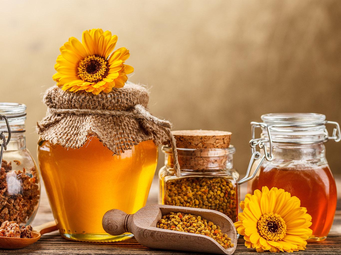 【画像】蜂蜜とろーり