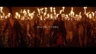 【CM】小栗旬のペプシ桃太郎、最終決戦! サル・キジ・犬・人間たちが鬼に挑む