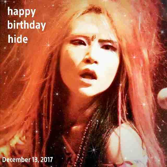 【Birthday月間】hide好きな人♪