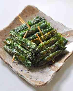 香味野菜のレシピ
