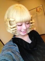 変な髪型・面白い髪型を貼るトピ