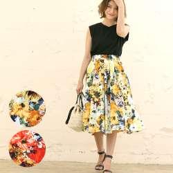 花柄の洋服