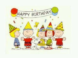 誕生日、いつも1人の人!