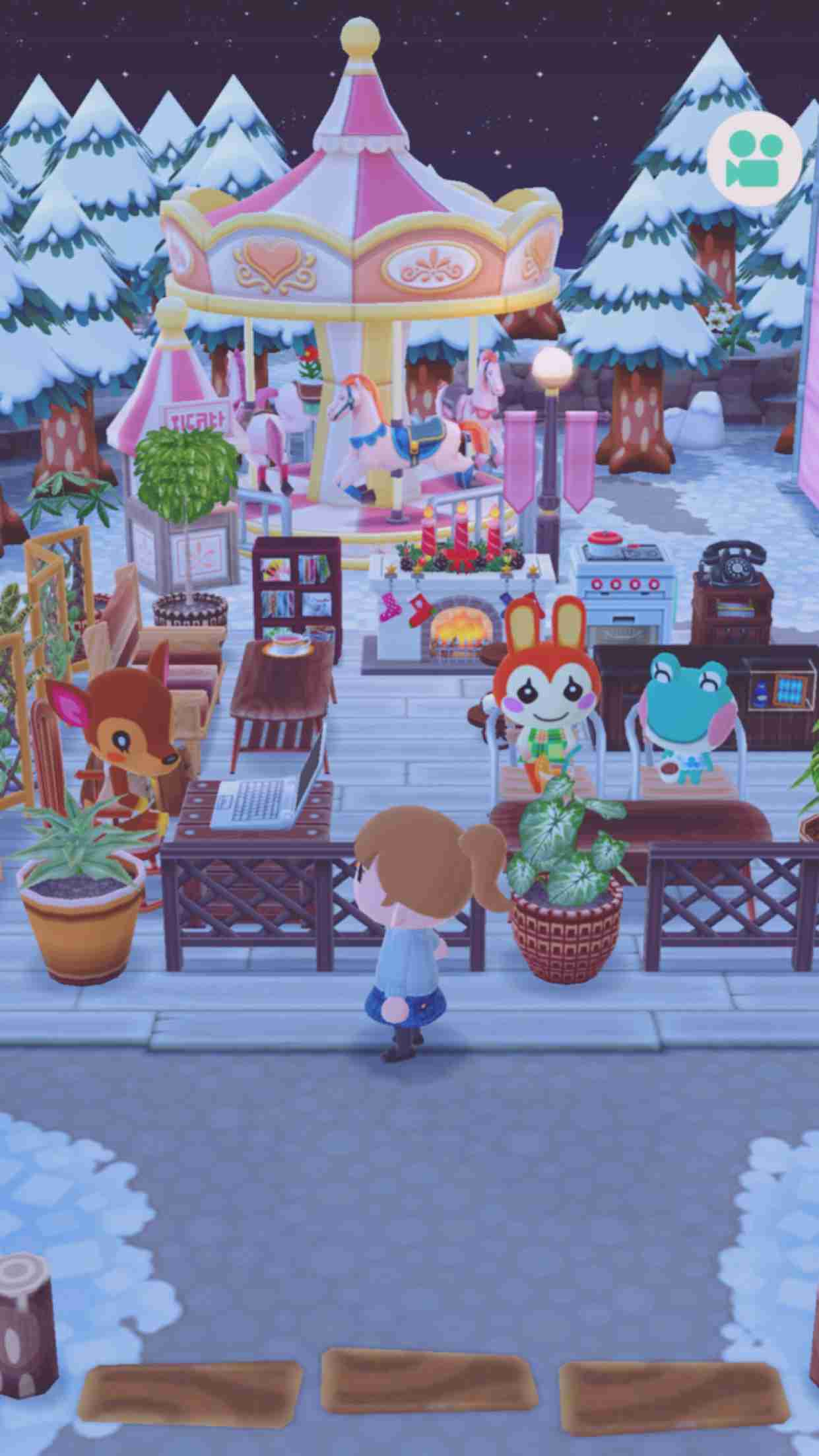 ポケ森!キャンプ場、車の画像が見たいっ!!