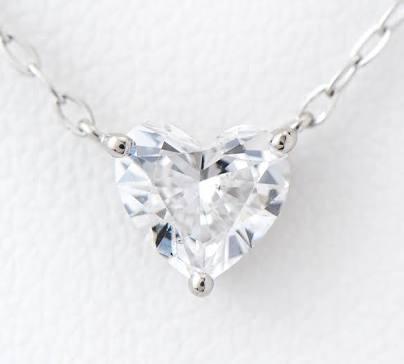 【アクセサリー好きな方】一粒ダイヤのネックレス