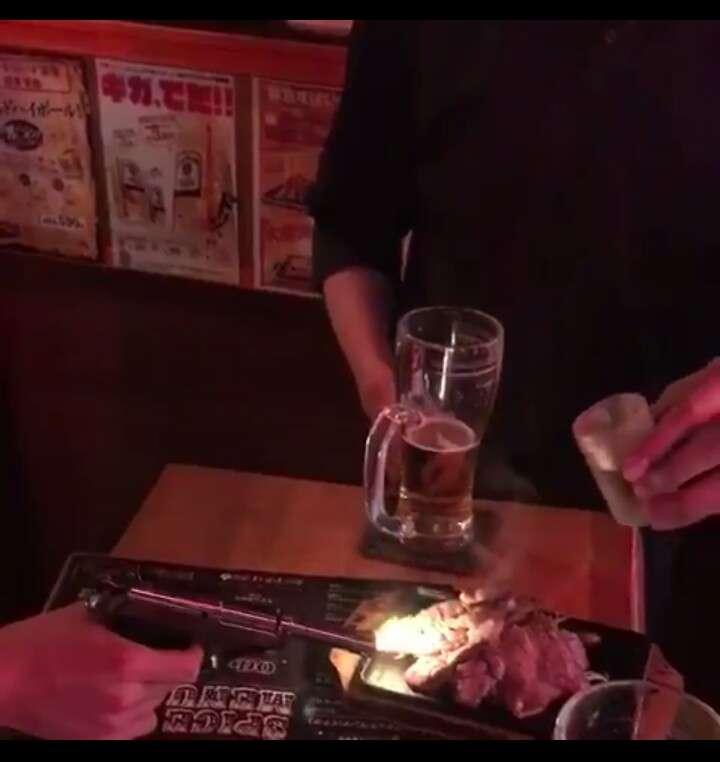 渋谷センター街でビル火災 延焼中