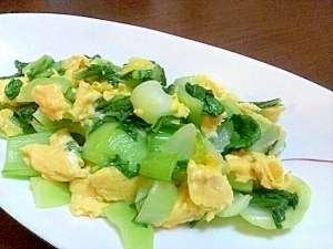 チンゲン菜の調理法