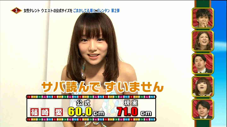 篠崎愛、グラビアの写真修正に言及「横乳が出過ぎで消したり…」