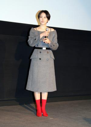 長澤まさみが高橋一生のヒゲ剃った川栄李奈に嫉妬!?「嘘を愛する女」初日舞台挨拶
