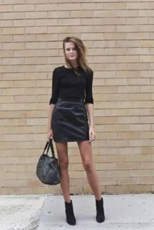 シンプルなファッションが好き