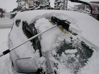 明日の大雪に備えてやった事。やっておくべき事。
