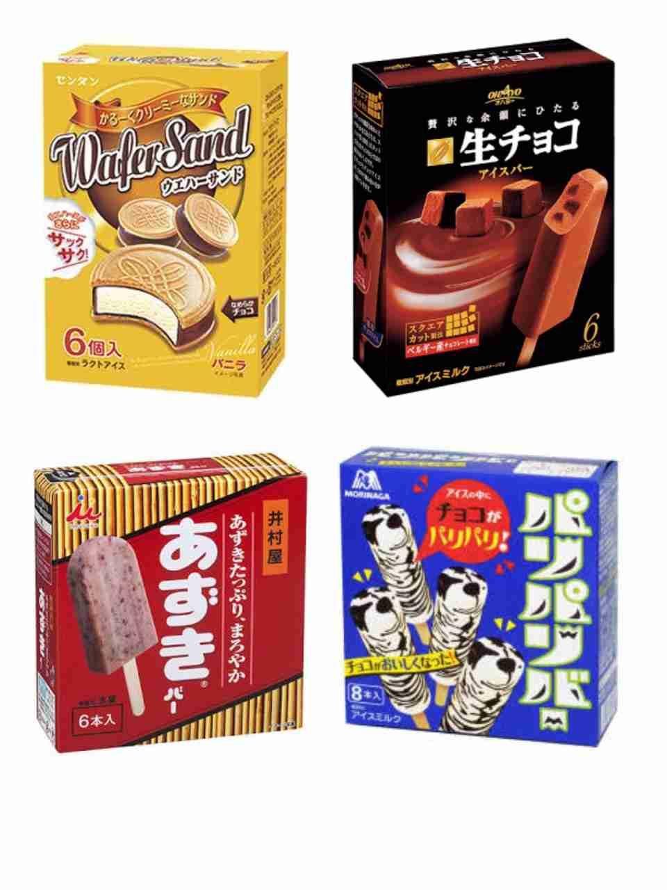 冬でもアイスを頻繁に食べる人〜