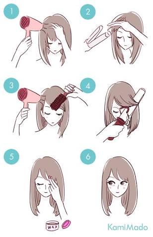 皆さんの前髪どのような感じですか??