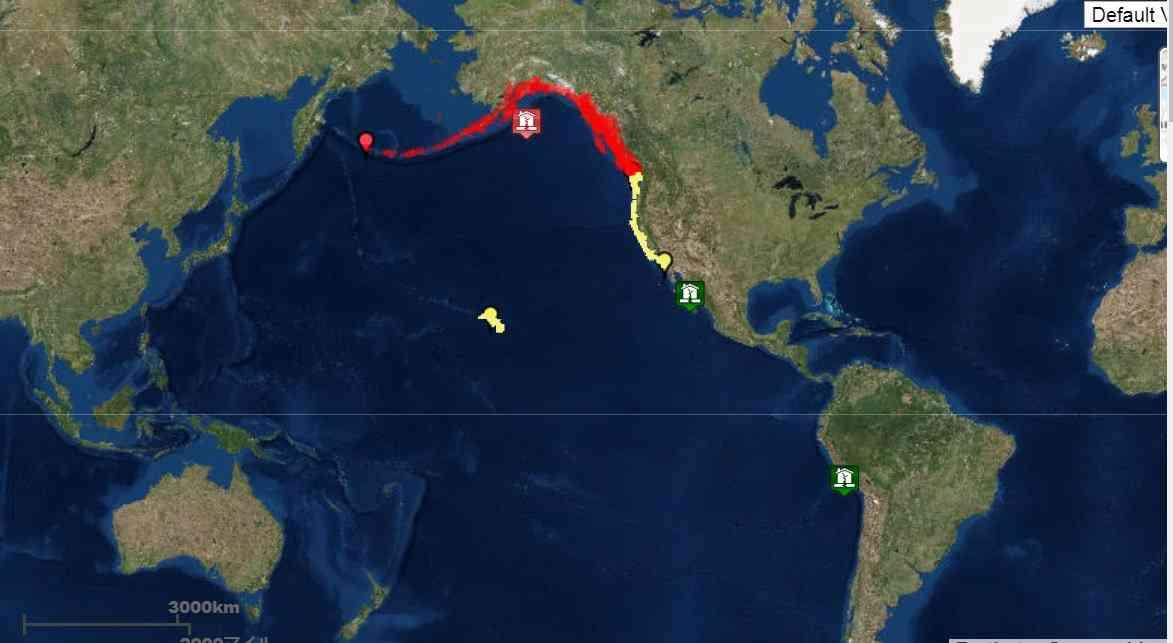 【海外地震】アラスカ南岸でM7.9の地震 日本への津波の心配なし