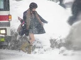 大雪なのに…日本の女子高生の姿に驚きの声―中国ネット
