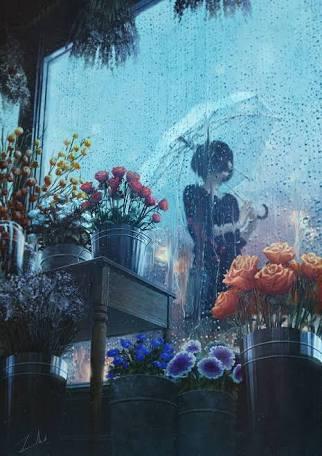 雨が降るとダウンする人