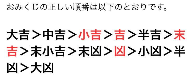 【大吉】初詣でおみくじ引いた方~【凶】