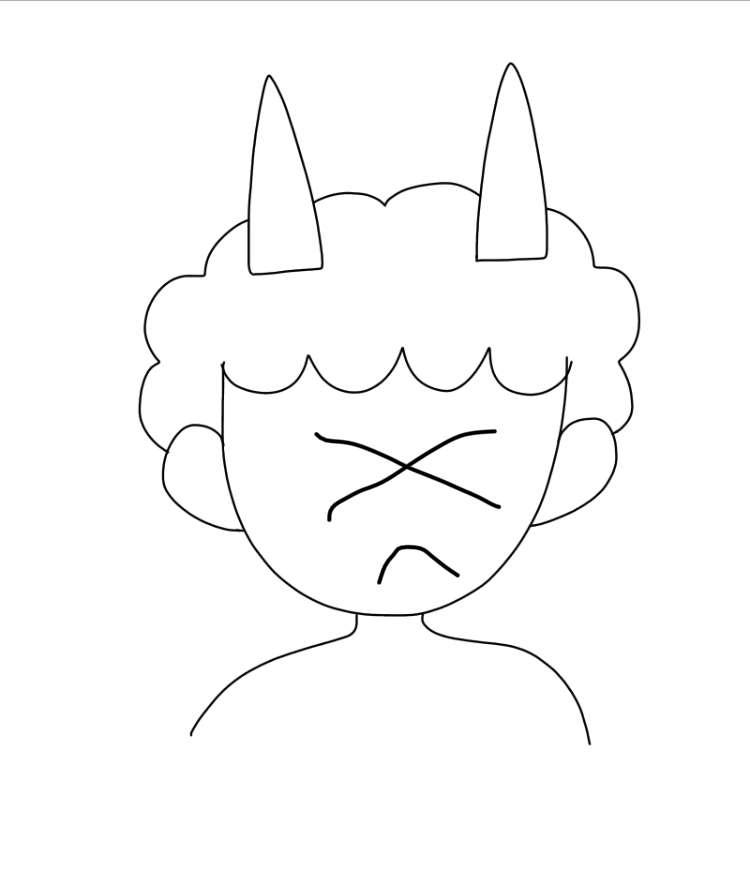 【ネタ絵】鬼に表情を付けよう【お絵描き】
