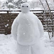 雪にうんざりしている人
