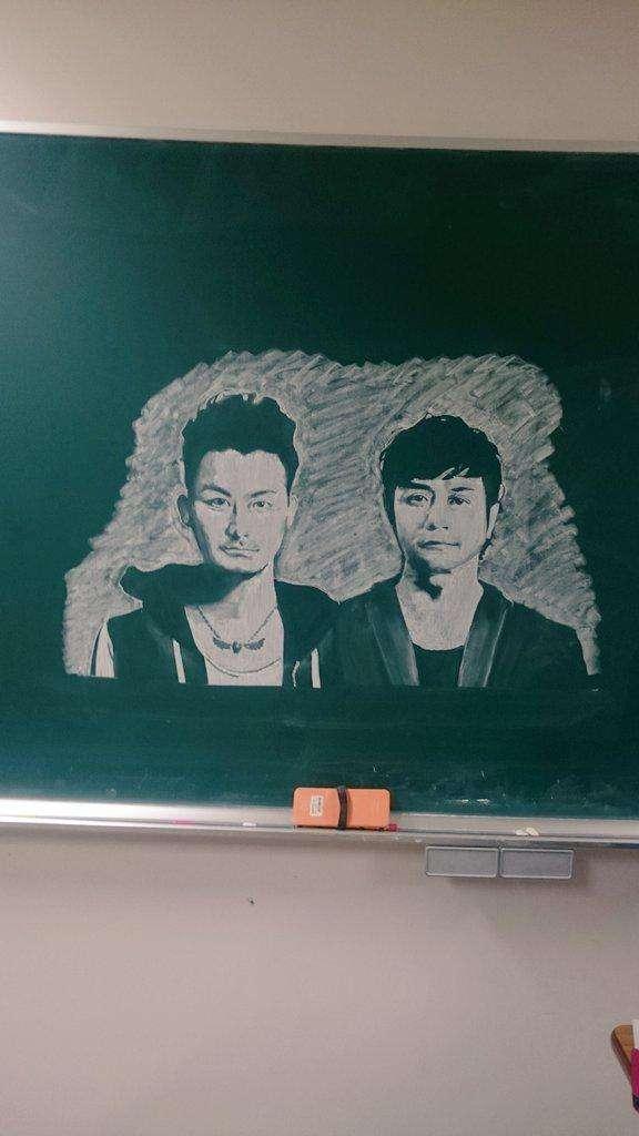 いろんな黒板アートを貼るトピ
