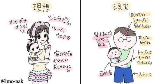【育児】理想と現実