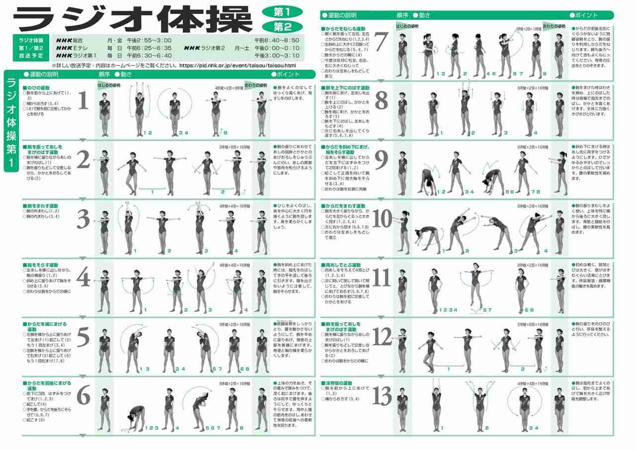 Let's 30日 ラジオ体操チャレンジ