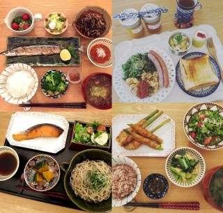 有名人の料理の画像