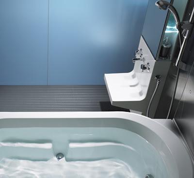 お風呂掃除用具の収納