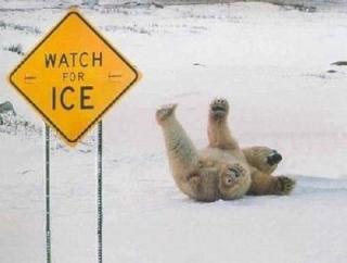 滑って転んだ人いませんか?
