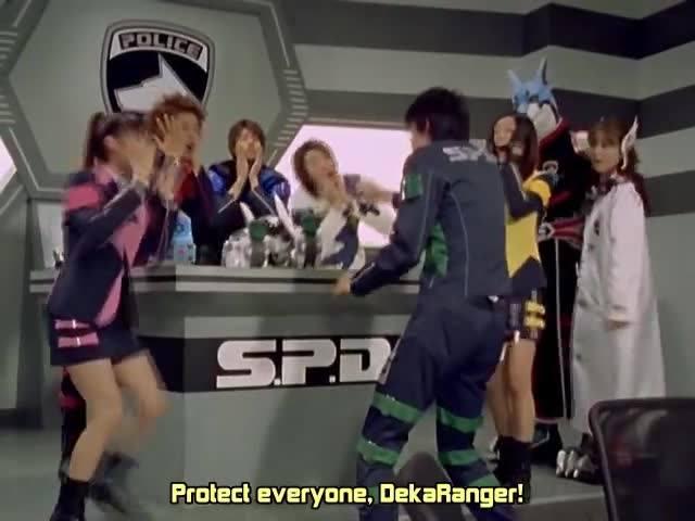 【本日初回】怪盗戦隊ルパンジャーvs警察戦隊パトレンジャーを観た方!