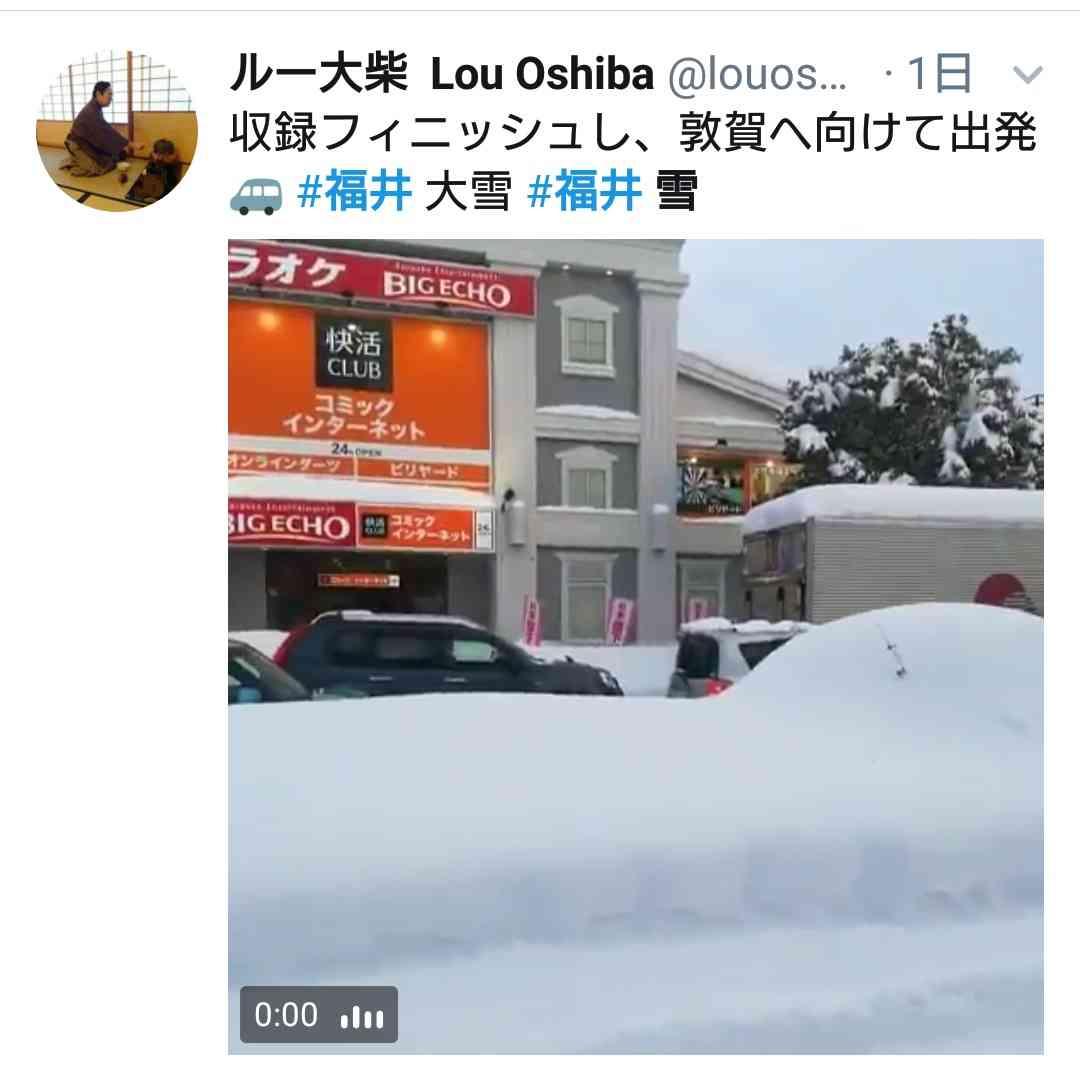 福井・勝山、市街地で積雪2m 大半のガソリンスタンドが給油量制限