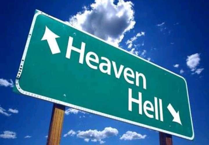 天国から地獄に落とされた出来事