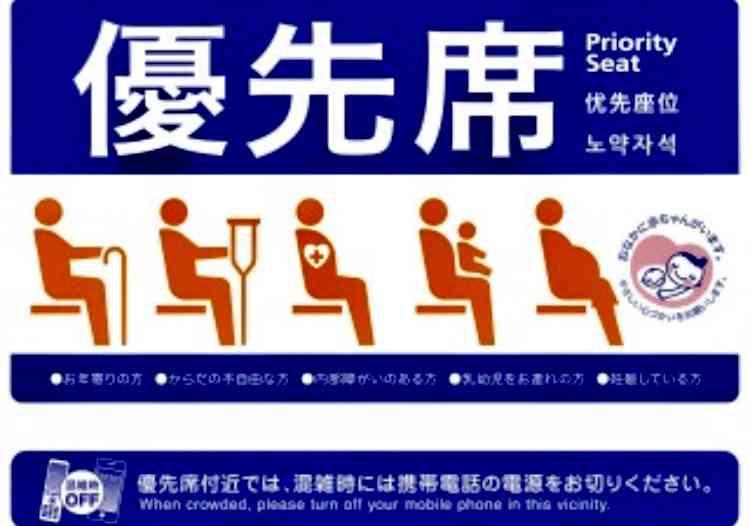 健常者の方、満員電車内で優先席が空いていたら座りますか?